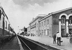 Gara feroviara internationala Ungheni