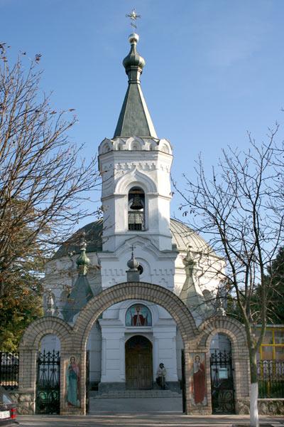 Biserica Aleksandr Nevski Ungheni
